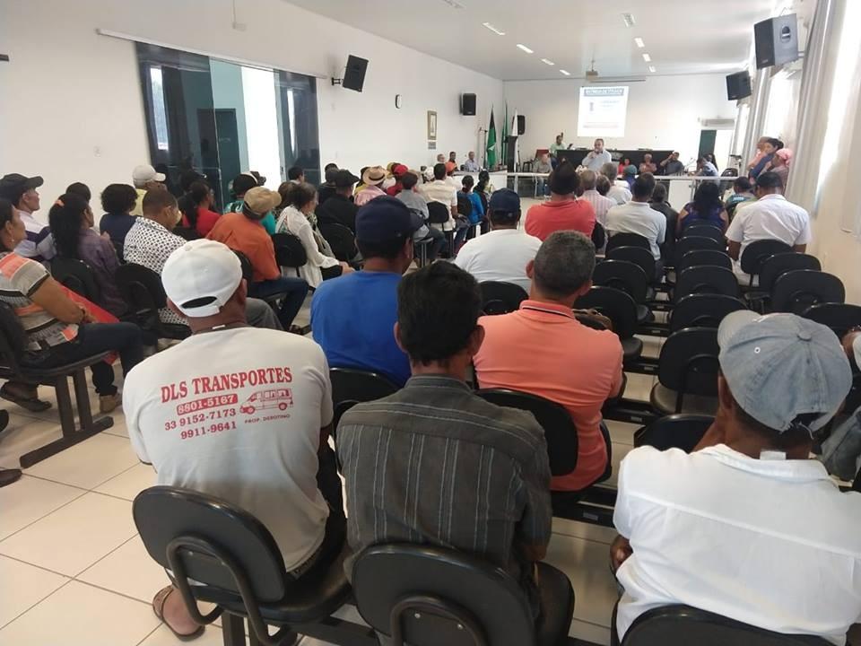 Audiências Públicas do Programa Estadual de Regularização Fundiária Rural